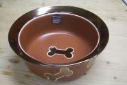 Keramiknapf - Nappa Matte, kupfer